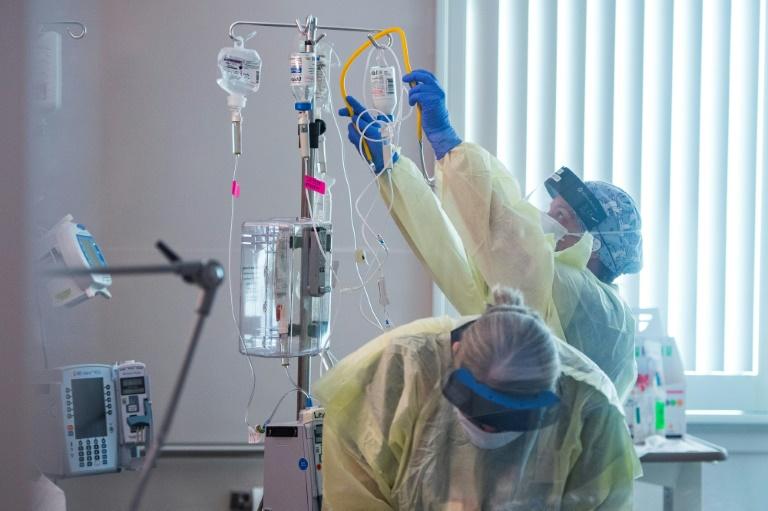 Bericht: Anteil der geimpften Covid-Patienten auf Intensivstationen gestiegen (© 2021 AFP)