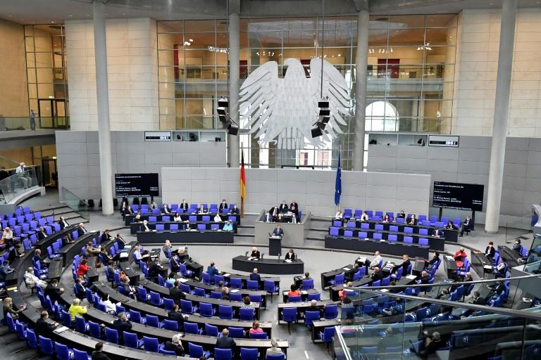 Bundesverfassungsgericht beginnt mit Verhandlung über Parteienfinanzierung (© 2021 AFP)