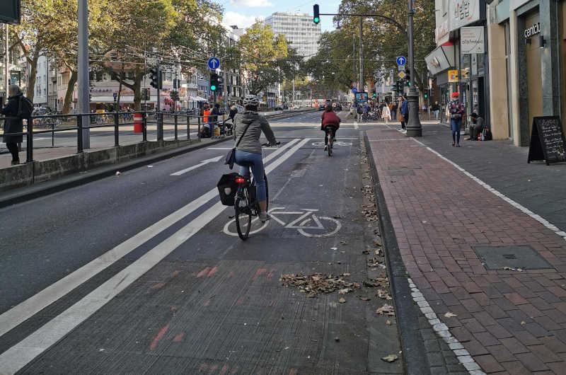 Fahrradfreundliche Umgestaltung der Kölner Ringe. (Foto: Stadt Köln)