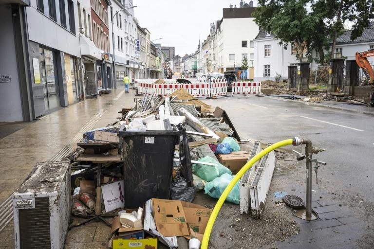 5500 private Anträge auf Wiederaufbauhilfe nach Flut in Nordrhein-Westfalen (© 2021 AFP)