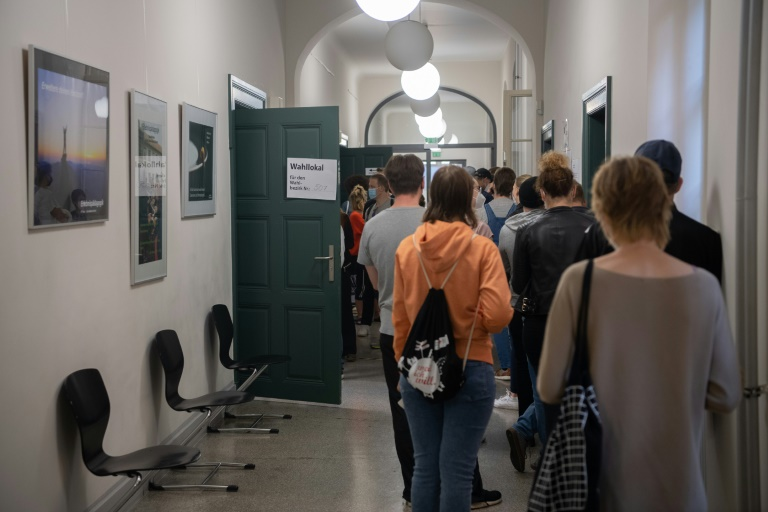 Berliner Landeswahlausschuss stellt endgültiges Ergebnis der Abgeordnetenhauswahl fest (© 2021 AFP)
