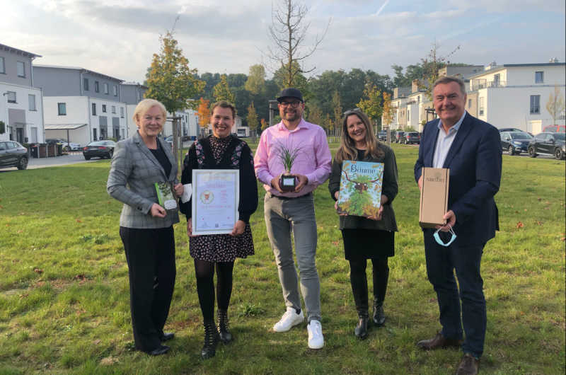 OB Kaminsky plant Kooperation mit Planet Tree in Großauheim. (Foto: Stadt Hanau)