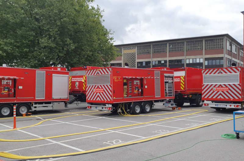 Stromausfall? Feuerwehr probt den Katastrophenfall. (Foto: Freiwillige Feuerwehr Aachen)