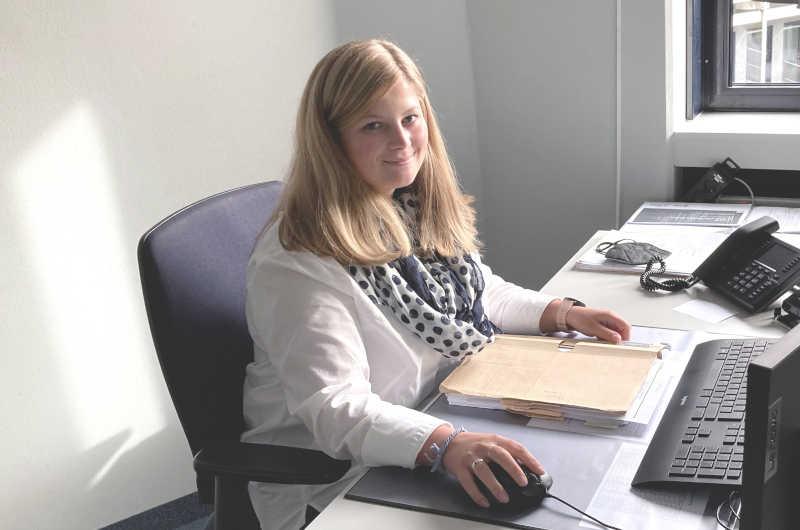 Louisa Hoffmann ist Ansprechpartnerin für das neue Förderprogramm. (Foto: Ulla Erkens)